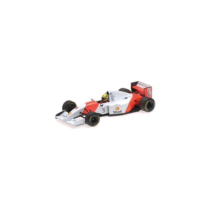 MINICHAMPS 540934328 McLaren MP4/8 Senna Vainqueur Donington 1993