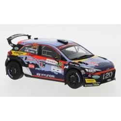 IXO RAM765LQ Hyundai i20 R5 n°30 Huttunen Sardinia 2020