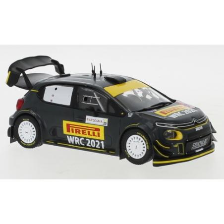 IXO RAM766LQ Citroen C3 WRC Solberg Sardinia 2020