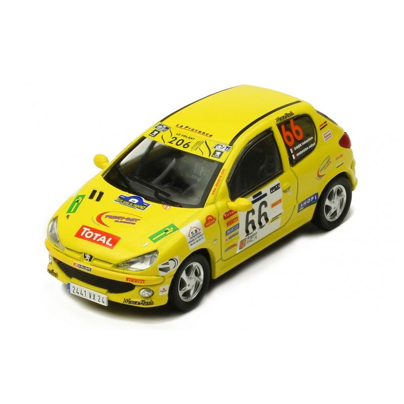 IXO RAM698 PEUGEOT 206 XS n°50 Ogier Rallye Terre des Cardabelles 2006