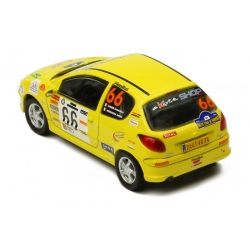 IXO PEUGEOT 206 XS n°50 Ogier Rallye Terre des Cardabelles 2006