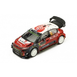 IXO RAM662 CITROËN C3 WRC n°10 Meeke Monte Carlo 2018