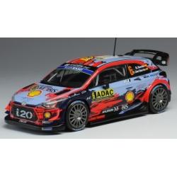 IXO RAM728 Hyundai i20 WRC n°6 Sordo Germany 2019