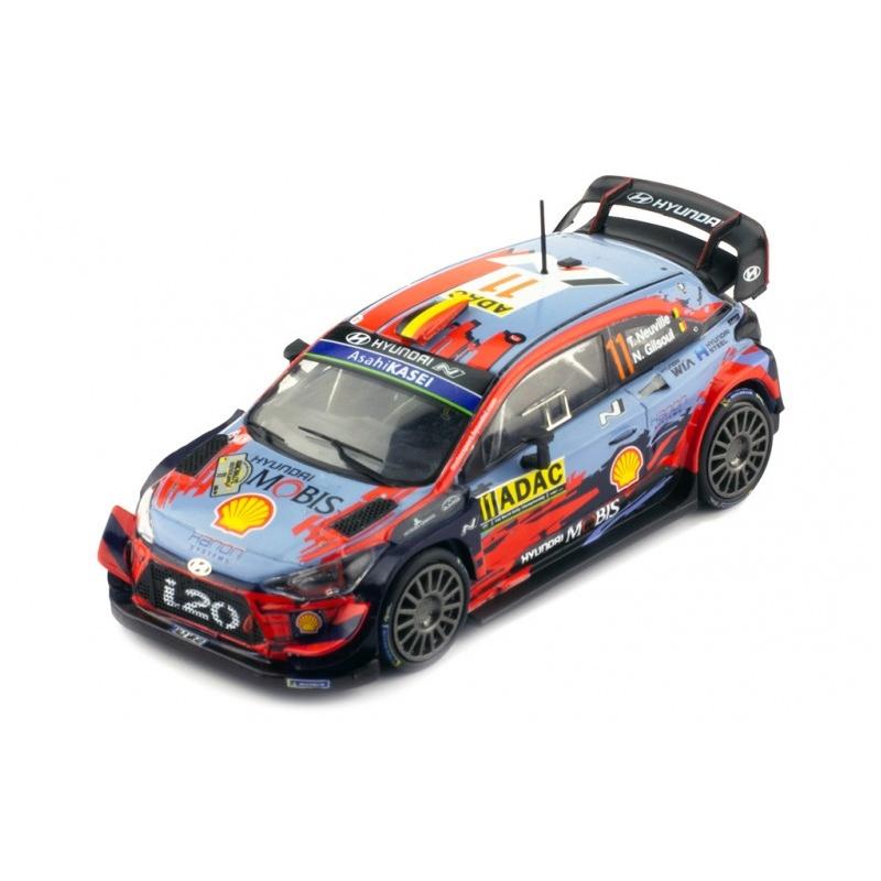 IXO RAM729 Hyundai i20 WRC n°11 Neuville Germany 2019