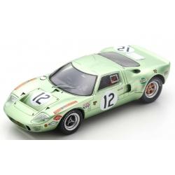 SPARK S4539  Ford GT40 n°12 24H Le Mans 1968