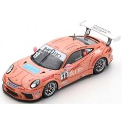 SPARK S8503 Porsche 911 GT3 Cup n°19 Porsche Carrera Cup Brazil 2018