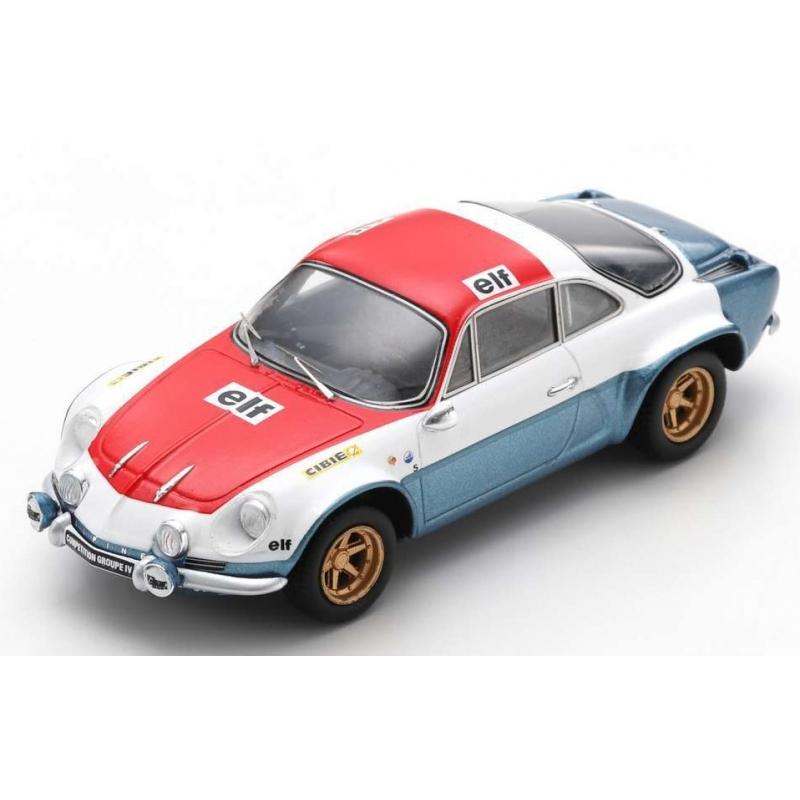 SPARK Alpine A110 Group IV Salon de Paris 1972