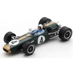 SPARK S7434 Brabham BT11A n°4 Brabham Vainqueur Tasman Series Australian GP 1965