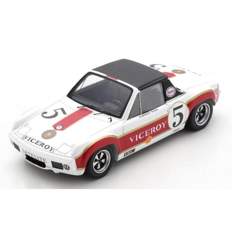SPARK Porsche 914/6 GT n°5 1000 km Mexico 1972