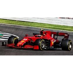 LOOKSMART LS18F1039 Ferrari SF21 Sainz Silverstone 2021