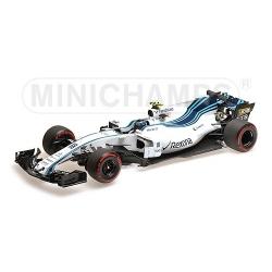 MINICHAMPS 1/18 Williams Mercedes FW40 Stroll Abu Dhabi 2017