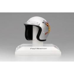 TRUESCALE TSMAC002 Helmet Paul Newman PLN Racing 1977