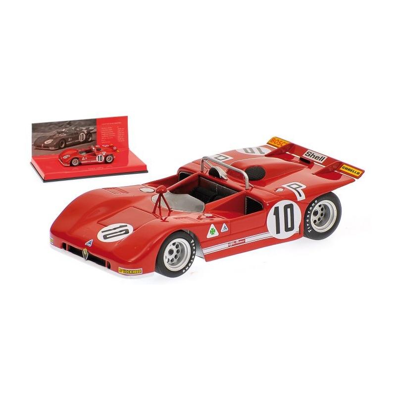 MINICHAMPS Alfa Romeo T33/3 n°10 1000 KM Nurburgring 1971