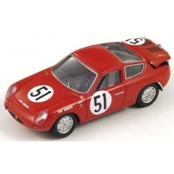 SPARK S1321 Abarth Fiat 700S n°51 Le Mans 1962