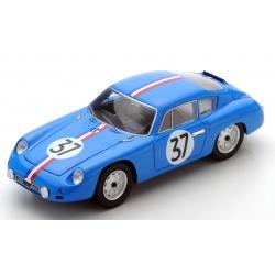 SPARK S1362 Porsche 356B Carrera Abarth GTL n°37 24H Le Mans 1961