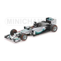 MINICHAMPS 410140144 Mercedes W05 Hamilton Winner Sepang 2014