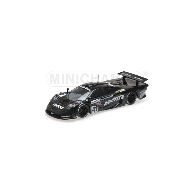 MINICHAMPS 1/18 McLaren F1 GTR n°41 Le Mans 1998