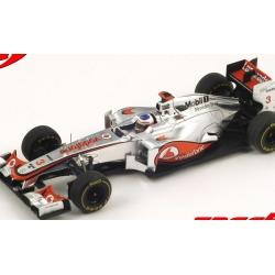 SPARK S3044 McLaren MP4-27 n°3 Button Vainqueur Melbourne 2012