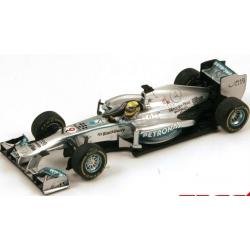 SPARK S3067 Mercedes W04 n°9 Rosberg Winner Monaco 2013