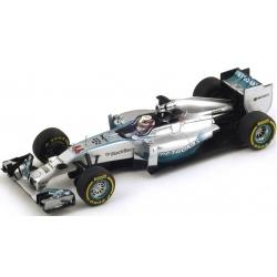 SPARK S3088 Mercedes W05 Hamilton Vainqueur Sepang 2014