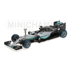 MINICHAMPS 1/18 Mercedes W07 Rosberg World Champion 2016