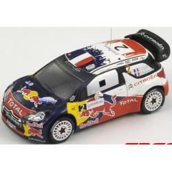 SPARK S3324 Citroën DS3 WRC Ogier Vainqueur France 2011