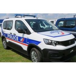 NOREV 479065 Peugeot Rifter 2019 - Police Nationale