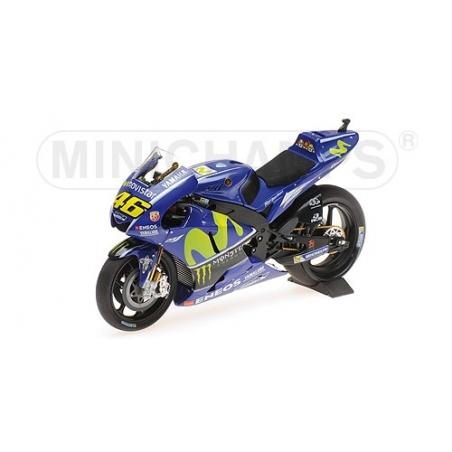 MINICHAMPS 1/12 Yamaha YZR M1 Rossi 2017