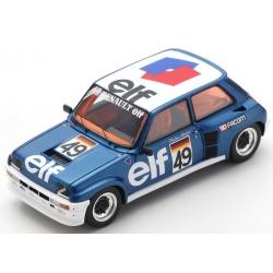 SPARK S6022 Renault 5 Turbo n°49 Röhrl Renault 5 Turbo Eurocup 1981