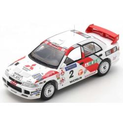 SPARK S6514 Mitsubishi Lancer EVOLUTION Ⅲ n°2 Vatanen Winner Rally Hong Kong - Beijing 1996