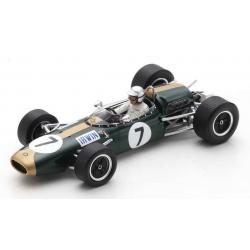 SPARK S7093 Brabham BT22 n°7 lrwin Brands Hatch 1966