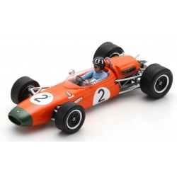 SPARK S7432 Brabham BT11A n°2 G. Hill Vainqueur Tasman Series Nouvelle Zélande GP 1965