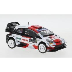 IXO RAM781 Toyota Yaris WRC n°1 Ogier Vainqueur Monte Carlo 2021