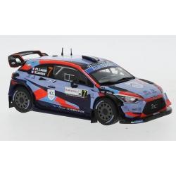 IXO RAM764LQ Hyundai i20 Coupe WRC n°7 Loubet Sardaigne 2020