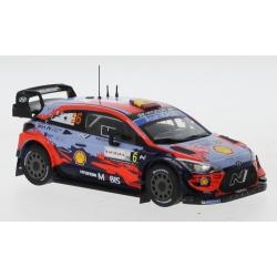 IXO RAM763 Hyundai i20 Coupe WRC n°6 Sordo Sardinia 2020