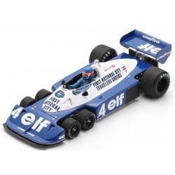 SPARK 18S571 Tyrrell P34 n°4 Depailler Kyalami 1977