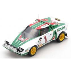 SPARK 18S535 Lancia Stratos HF n°1 Munari Winner Monte Carlo 1977