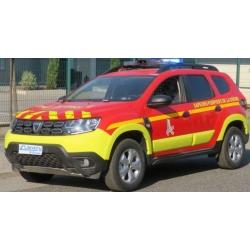 NOREV 509048 Dacia Duster 2020 - Pompiers - Chef de Groupe