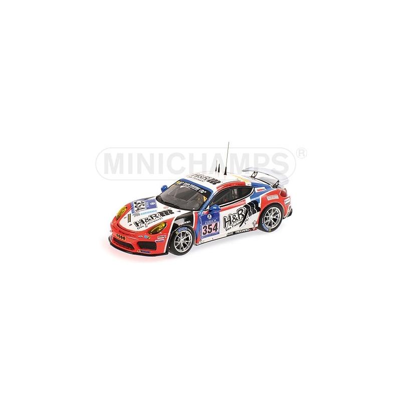MINICHAMPS Porsche Cayman GT4 Clubsport n°354 24H Nurburgring 2016