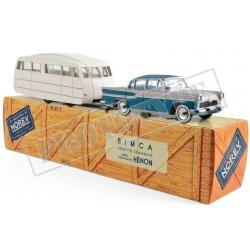 NOREV CL5712 Simca Vedette Chambord 1958 & caravane Hénon