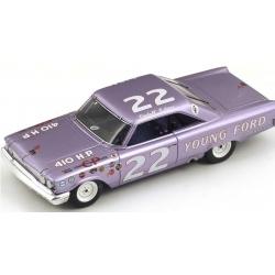 "SPARK S3597 Ford Galaxy n°22 ""Fireball"" Roberts Vainqueur Darlington 1963"