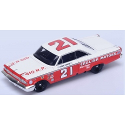 SPARK Ford Galaxy n°21 Lund Vainqueur Daytona 500 1963