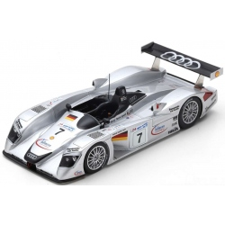 SPARK S3699 Audi R8 n°7 Le Mans 2000