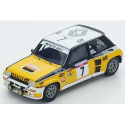 SPARK S3862 Renault 5 Turbo n°7 Ragnotti Vainqueur Tour de Corse 1982