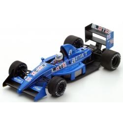SPARK S3968 Ligier JS31 n°25 Arnoux Suzuka 1988