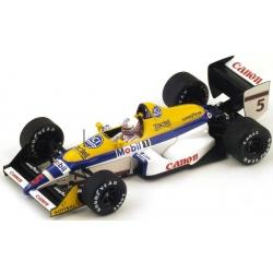 SPARK S4027 Williams FW12 n°5 Brundle Spa 1988