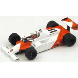 SPARK S4301 McLaren MP4/1 n°8 De Cesaris Monaco 1981