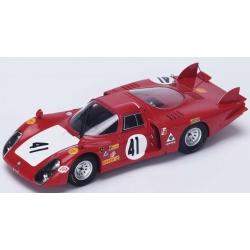 SPARK S4370 Alfa Romeo 33/2 n°41 Le Mans 1968