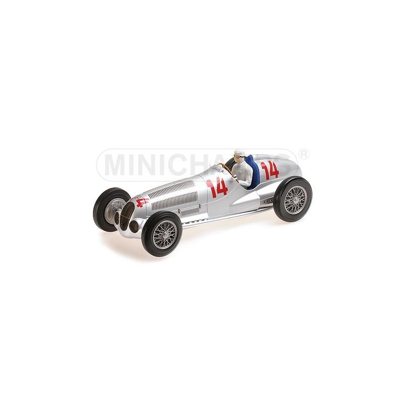 MINICHAMPS 1/18 Mercedes W125 Von Brauchitsch Deutschland 1937