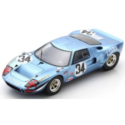 SPARK SI014 Ford GT40 n°34 1000 km Monza 1969